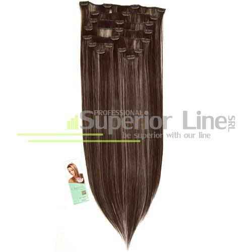 Cherish Clip-In синтетични разширения за коса клип (цвят 4/88)