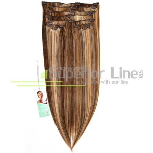 Cherish Extensions Clip On Synthetic Hair (color 6/16/12/613)