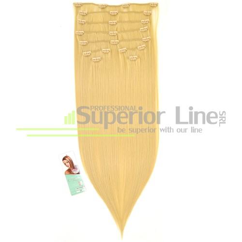 Cherish Extensions à clips Cheveux synthétiques (couleur 24)