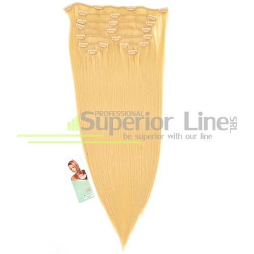 Cherish удължаване на коса Изкуствена Clip In (цвят 613)