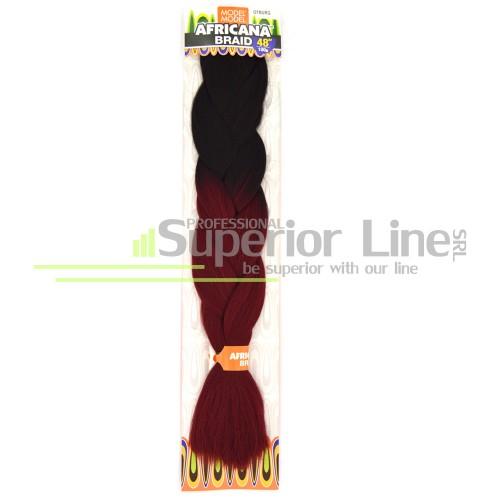 Model Model Africana braid (color OTBURG)