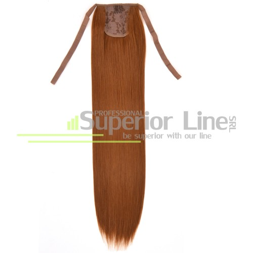 Ponytail synthetic hair straight (color 30Y)