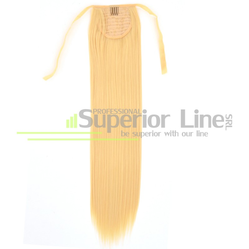 Ponytail synthetic hair straight (color 613)