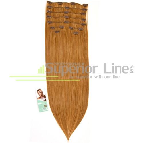 Cherish удължаване на коса Изкуствена Clip In (цвят 27)