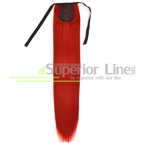 Ponytail synthetic hair straight (color 3100)