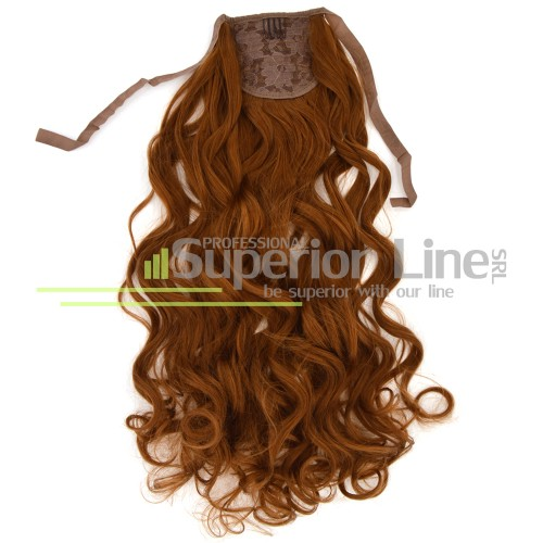 Ponytail synthetic hair loose loops (color 30Y)