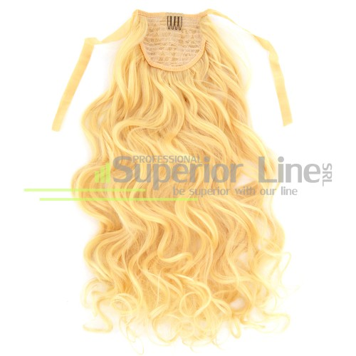 Ponytail synthetic hair loose loops (color 613)