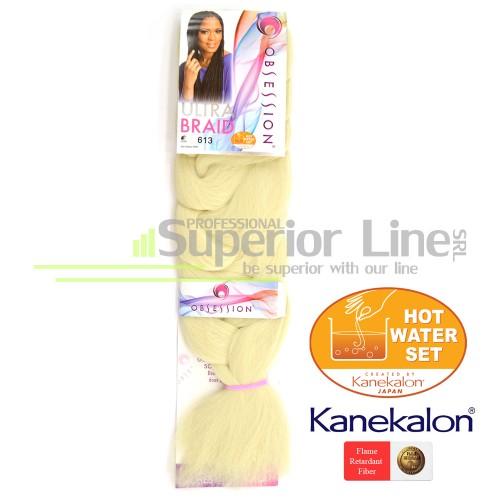 Obsession Ultra Braid Синтетични коса за африканска плитка (цвят 613)