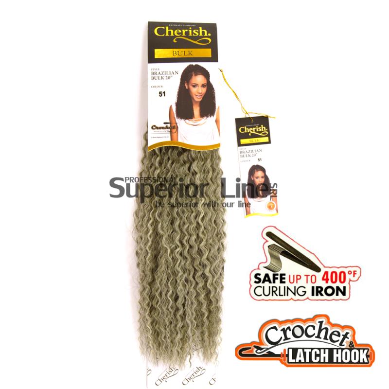 Cherish Brazilian удължения за коса синтетични къдрици афро