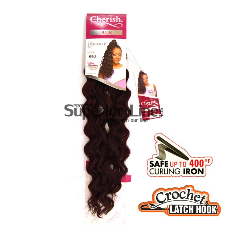 Cherish Ravish hajhosszabbitas szintetikus fürtök afro (színes