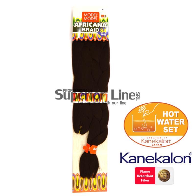 Africana Super Braid Синтетични коса за африканска плитка (цвят