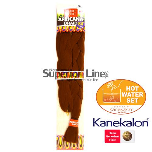 Africana Super Braid Синтетични коса за африканска плитка (цвят 30)