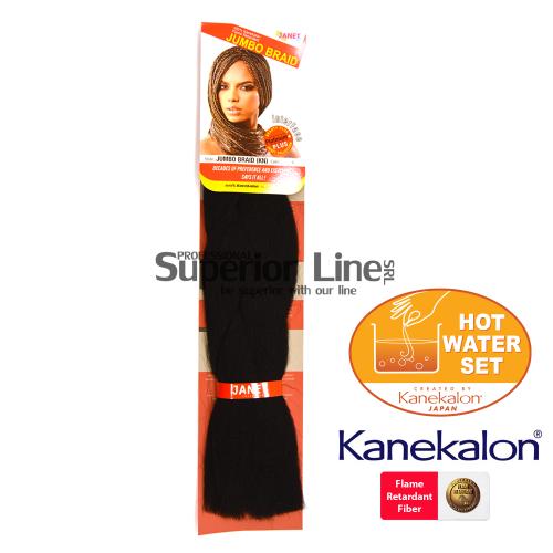 Janet Jumbo Braid (KN) Синтетични коса за африканска плитка (цвят 1)