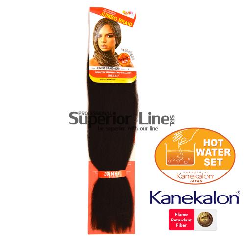 Janet Jumbo Braid (KN) Синтетични коса за африканска плитка (цвят 2)