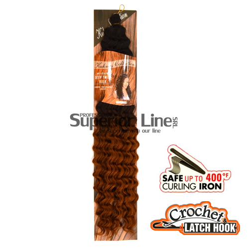 Kuknus Deep Twist удължения за коса афро ломбер (цвят TT30)