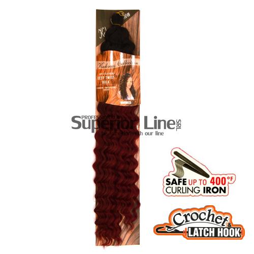 Kuknus Deep Twist удължения за коса афро ломбер (цвят TTBUR)