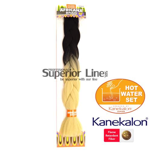 Africana Braid szintetikus hajat az afro kötéshez (szín OT613)