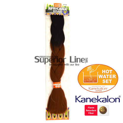 Africana Braid Синтетични коса за африканска плитка (цвят OT30)