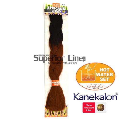 Africana Braid szintetikus hajat az afro kötéshez (szín OT30)