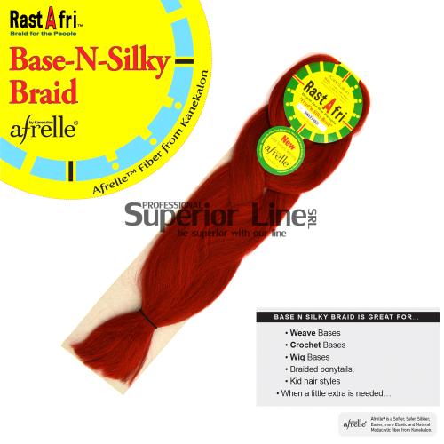 Rastafri AFB kanekalon-zöpfe aus kunsthaar (farbe SWEET RED)