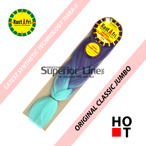 Rastafri Classic Jumbo Braid (color BT/PP.SKY)