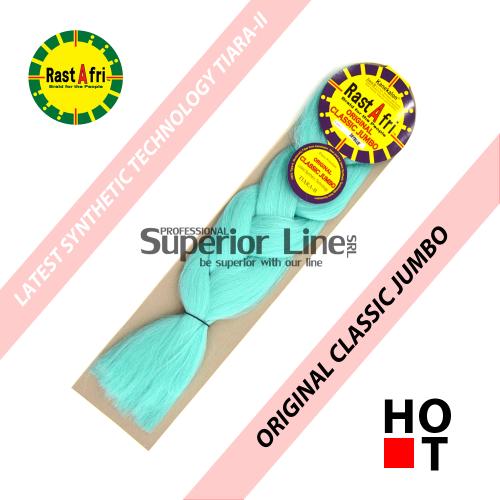Rastafri Classic ile-luzapen sintetikoak afrikako txirikordak egiteko (kolore SKY BLUE)
