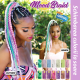 Rastafri AFB szintetikus hajat az afro kötéshez (szín PINK