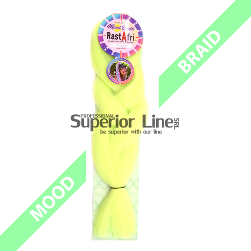 RastAfri Mood Braid Jumbo Braid (color LIME DELIGHT)