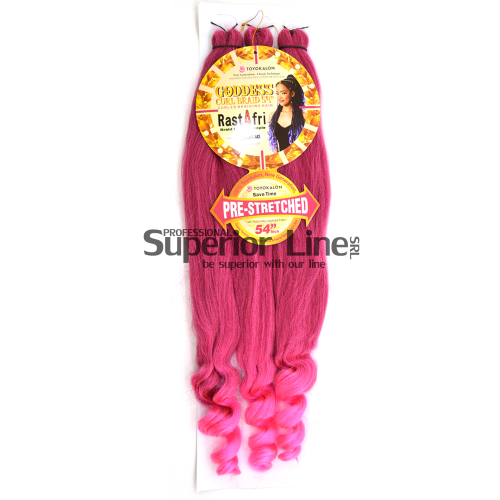 Rastafri Goddess 3X Braid Pre Streched (color BT/S.SHORT.C)