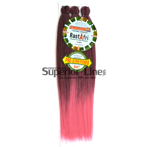 Rastafri Amazon 3X Braid Pre Streched (color BT1B/ROSSY)