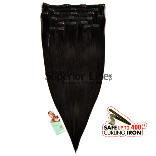 Cherish Extensions Clip On Synthetic Hair (color 1)