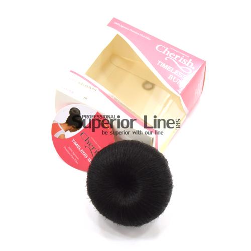 Cherish Ballerina04 chignon cheveux synthétiques (couleur 1B)