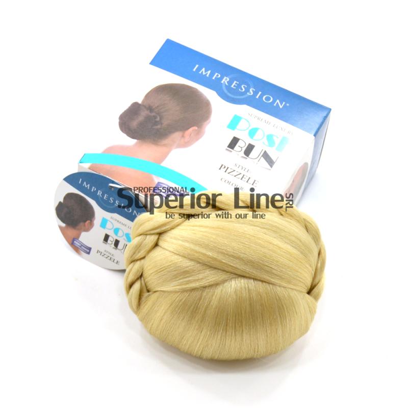 Impression Pizzele chignon cheveux synthétiques (couleur 613)