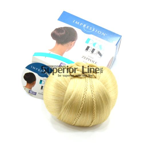 Impression Zeppole brötchen synthetisches haar (farbe 613)