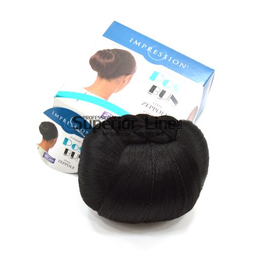 Impression Zeppole chignon cheveux synthétiques (couleur 1)