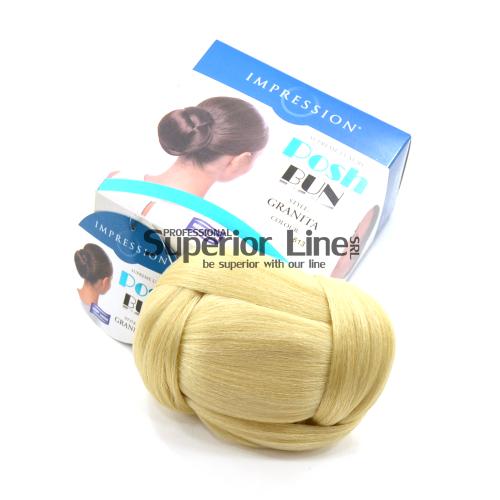 Impression Granita brötchen synthetisches haar (farbe 613)