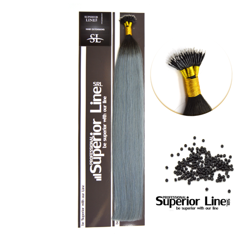 Superior Line Luxura Extensions Human Hair Remy NanoRing (color