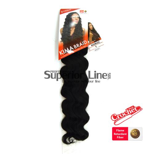 Kima Ocean Wave hajhosszabbitas afro (szín 1)