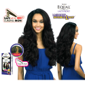 Freetress Equal Falomi Invisible L Part Lace Deep wig synthetic hair (color 1)