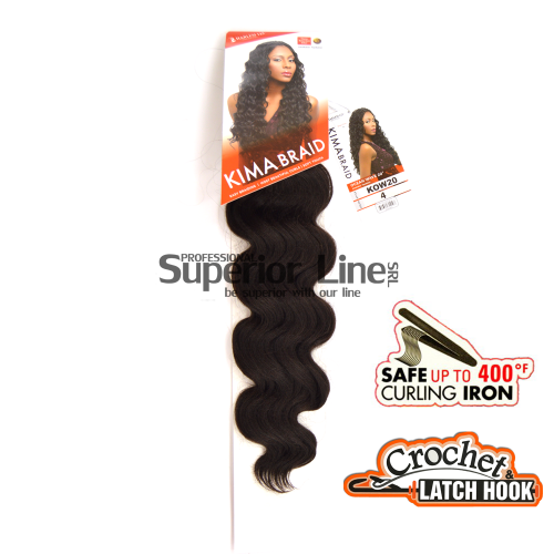 Kima Ocean Wave crochet braids (color 4)