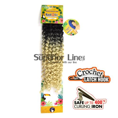 Rastafri Bora Bora удължения за коса синтетични къдрици афро плетене на една кука (цвят GTOM/613)