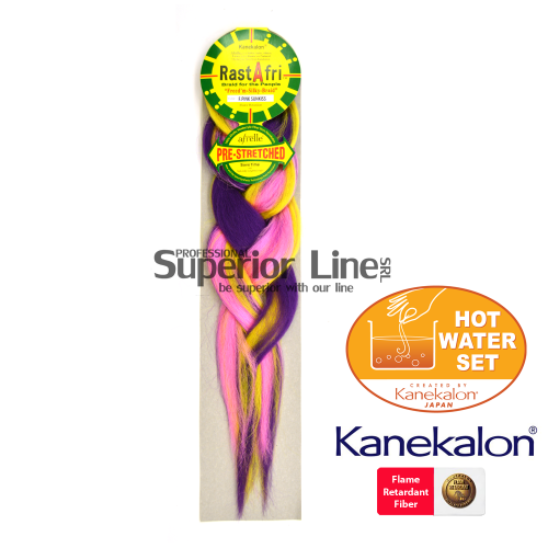Rastafri Pre Streched kanekalon-zöpfe aus kunsthaar (farbe F.PINKSUNKISS)