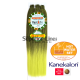 Rastafri Amazon 3X Braid Pre Streched (color T1B/NEON)