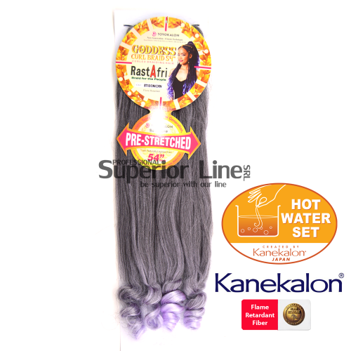 Rastafri Goddess 3X Pre Streched kanekalon haj (szín BT1B/UNICORN)
