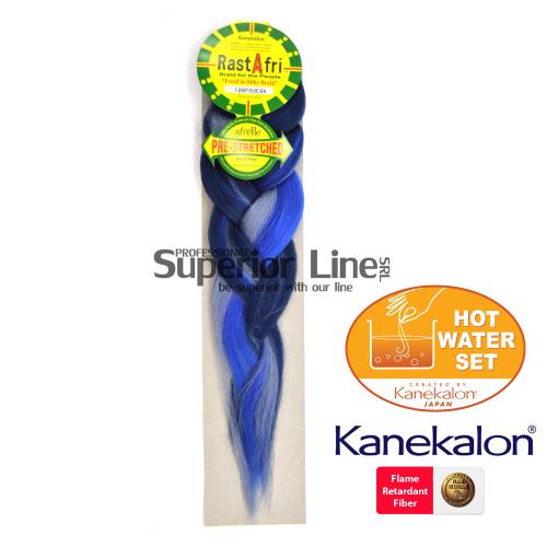 Rastafri Pre Streched kanekalon-zöpfe aus kunsthaar (farbe F.DEEPBLUESEA)