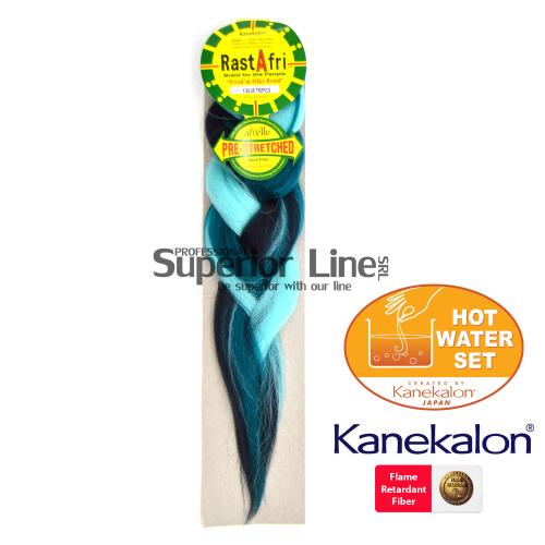 Rastafri Pre Streched kanekalon-zöpfe aus kunsthaar (farbe F.BLUE TROPICS)