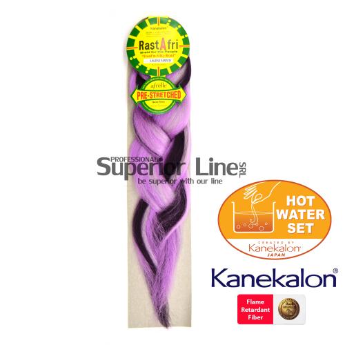 Rastafri Pre Streched kanekalon-zöpfe aus kunsthaar (farbe F.PURPLEFANTASY)