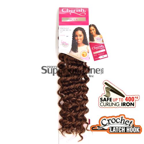 Cherish Pronto удължения за коса синтетични къдрици афро плетене на една кука (цвят на 30)