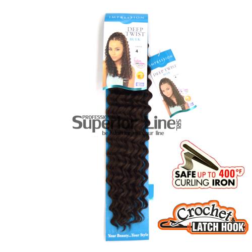 Impression Deep Twist hajhosszabbitas szintetikus fürtök afro (szín 4)