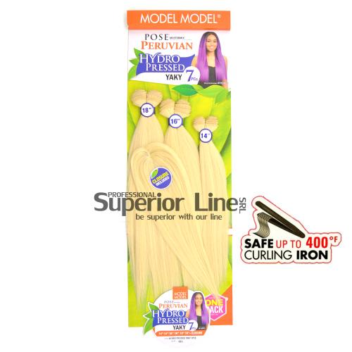 Pose Peruvian пакет удължаване на коса Изкуствена 7 броя (цвят 613)